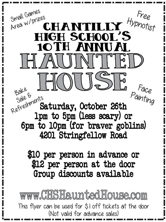 Haunted House ad