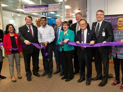 Opening of innovation lab