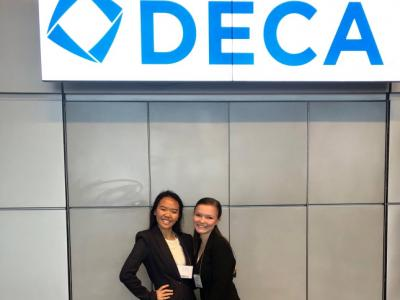 Chantilly Students attend DECA