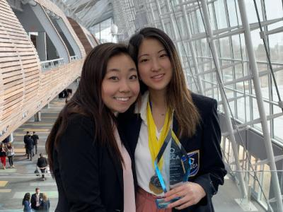 Chantilly Students at DECA